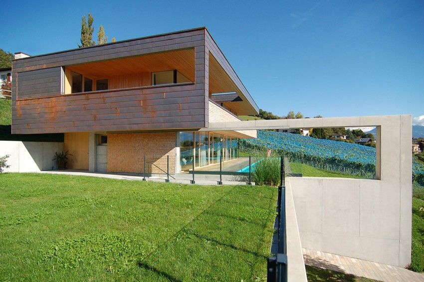 Single Family Home in Schaan by k_m architektur (6)
