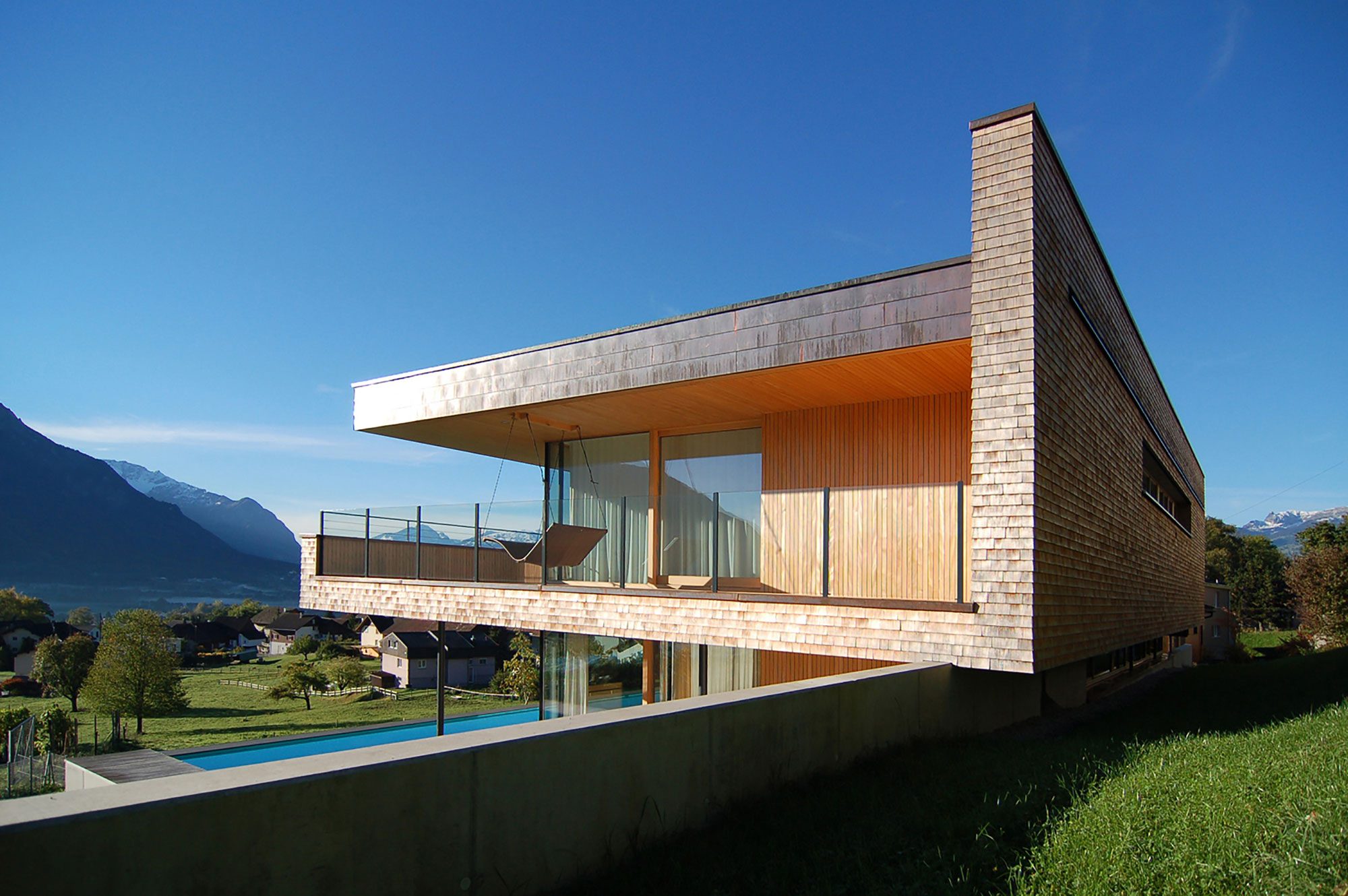 Single Family Home in Schaan by k_m architektur