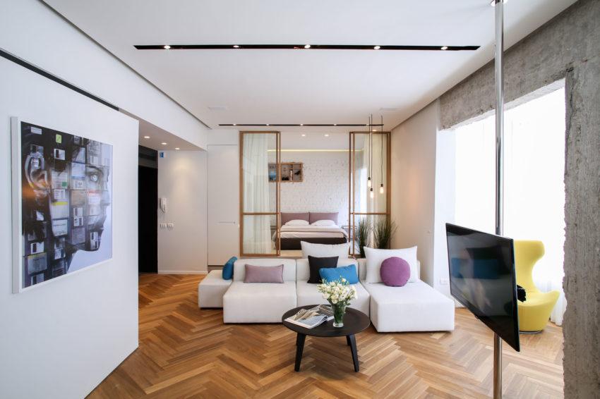 Tlv Rothschild Blvd Apartment by DORI Interior Design (1)