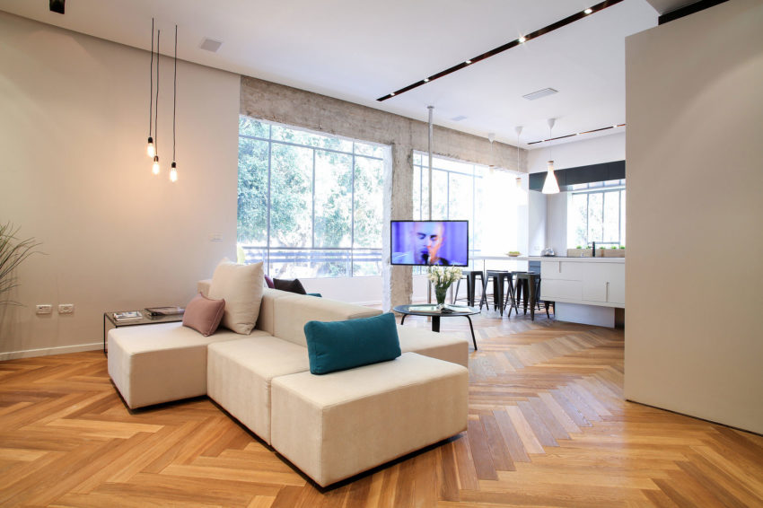 Tlv Rothschild Blvd Apartment by DORI Interior Design (12)
