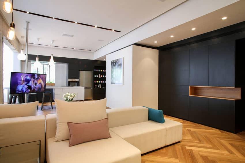Tlv Rothschild Blvd Apartment by DORI Interior Design (14)