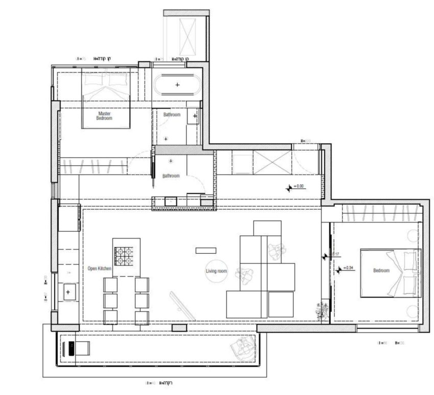 Tlv Rothschild Blvd Apartment by DORI Interior Design (30)