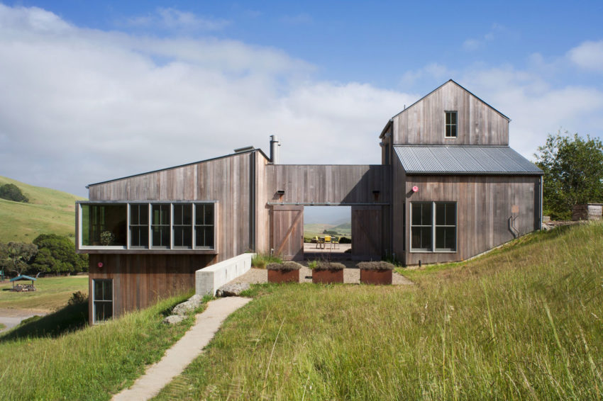 West Marin Ranch by Turnbull Griffin Haesloop Architects (2)