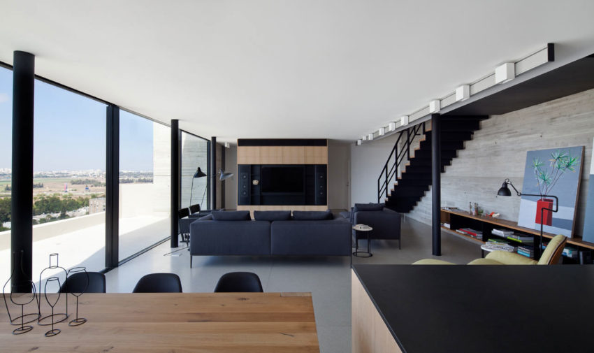 Y Duplex Penthouse by Pitsou Kedem Architects (1)
