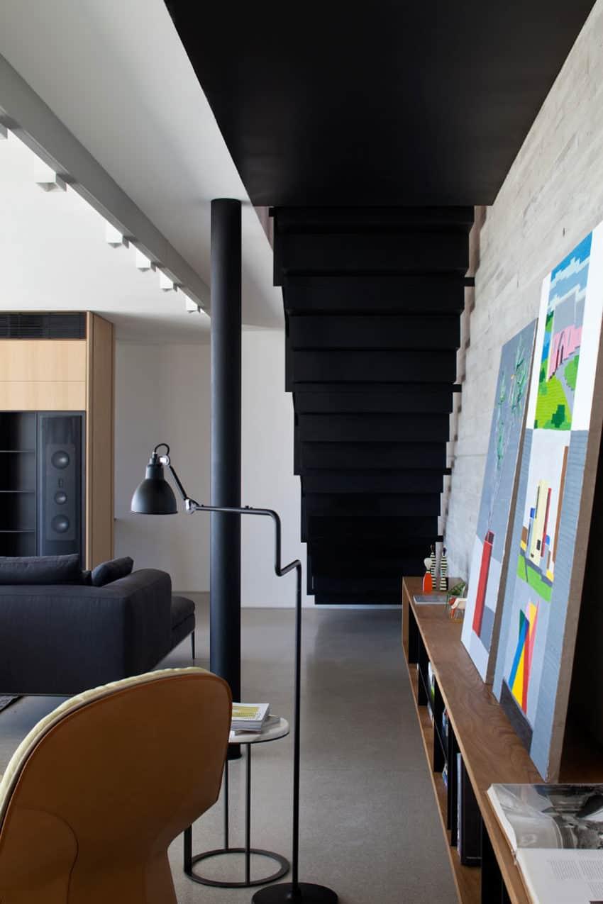Y Duplex Penthouse by Pitsou Kedem Architects (3)