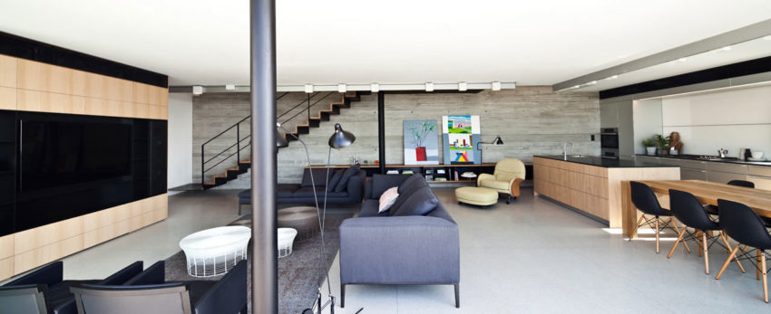 Y Duplex Penthouse by Pitsou Kedem Architects (4)