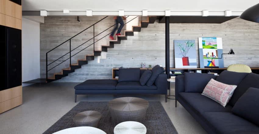 Y Duplex Penthouse by Pitsou Kedem Architects (6)