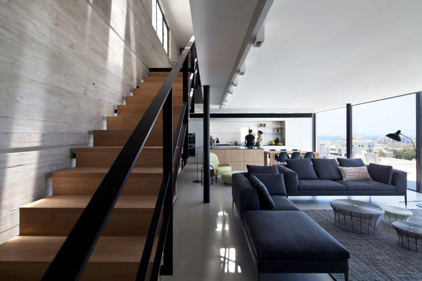 Y Duplex Penthouse by Pitsou Kedem Architects (10)