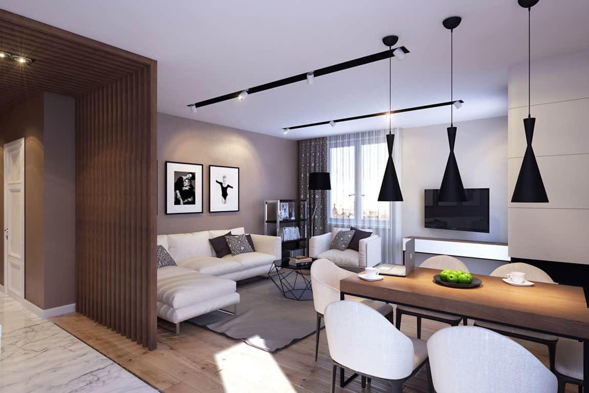 Apartment in Saint Petersburg by GEOMETRIUM (2)