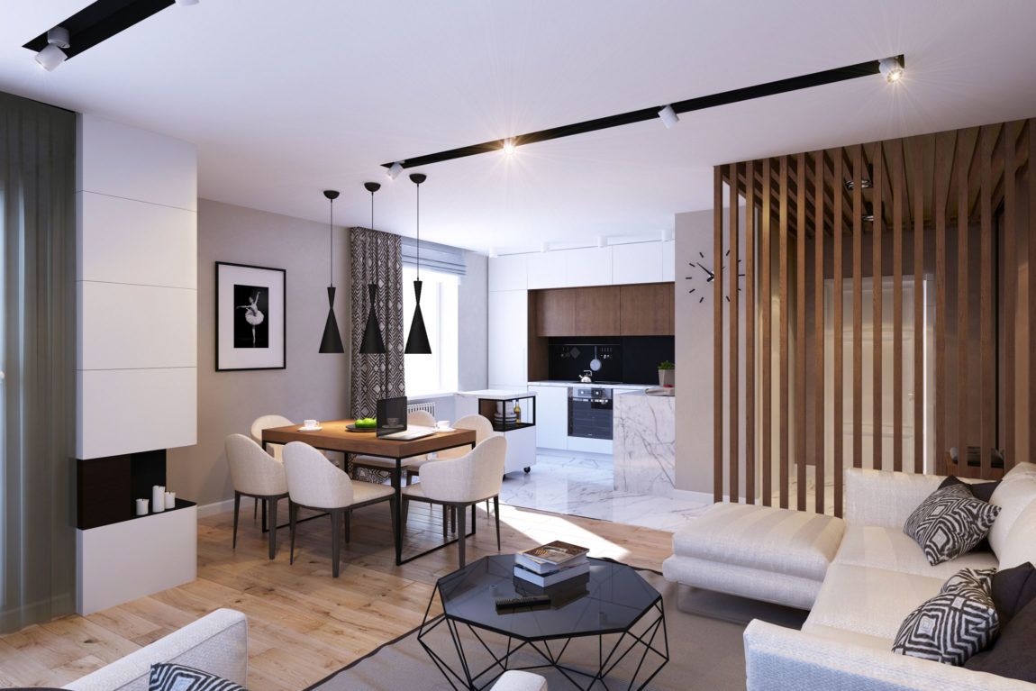 Apartment in Saint Petersburg by GEOMETRIUM (4)