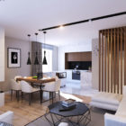 Apartment in Saint Petersburg by GEOMETRIUM (4)