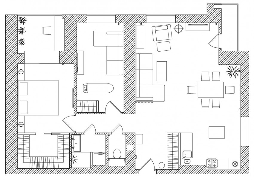 Apartment in Saint Petersburg by GEOMETRIUM (10)