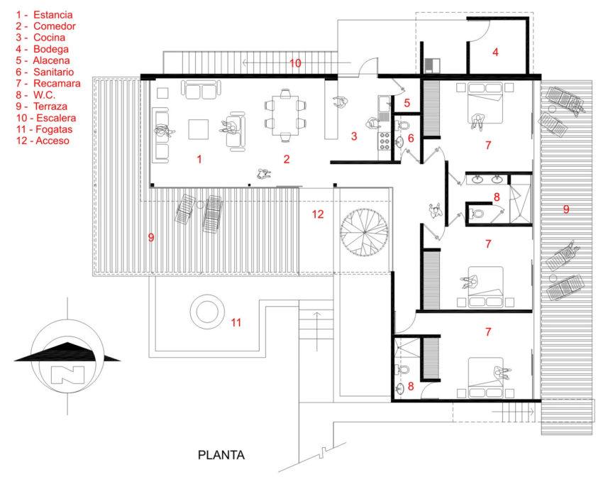 Casa La Tomatina by Plastik Arquitectos (18)