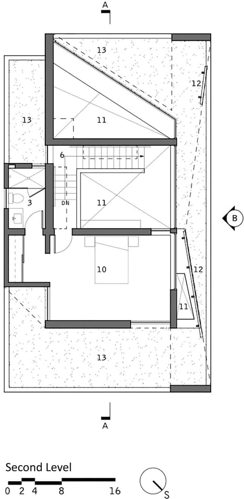 Ehrlich Retreat + by John Friedman Alice Kimm Architects (18)