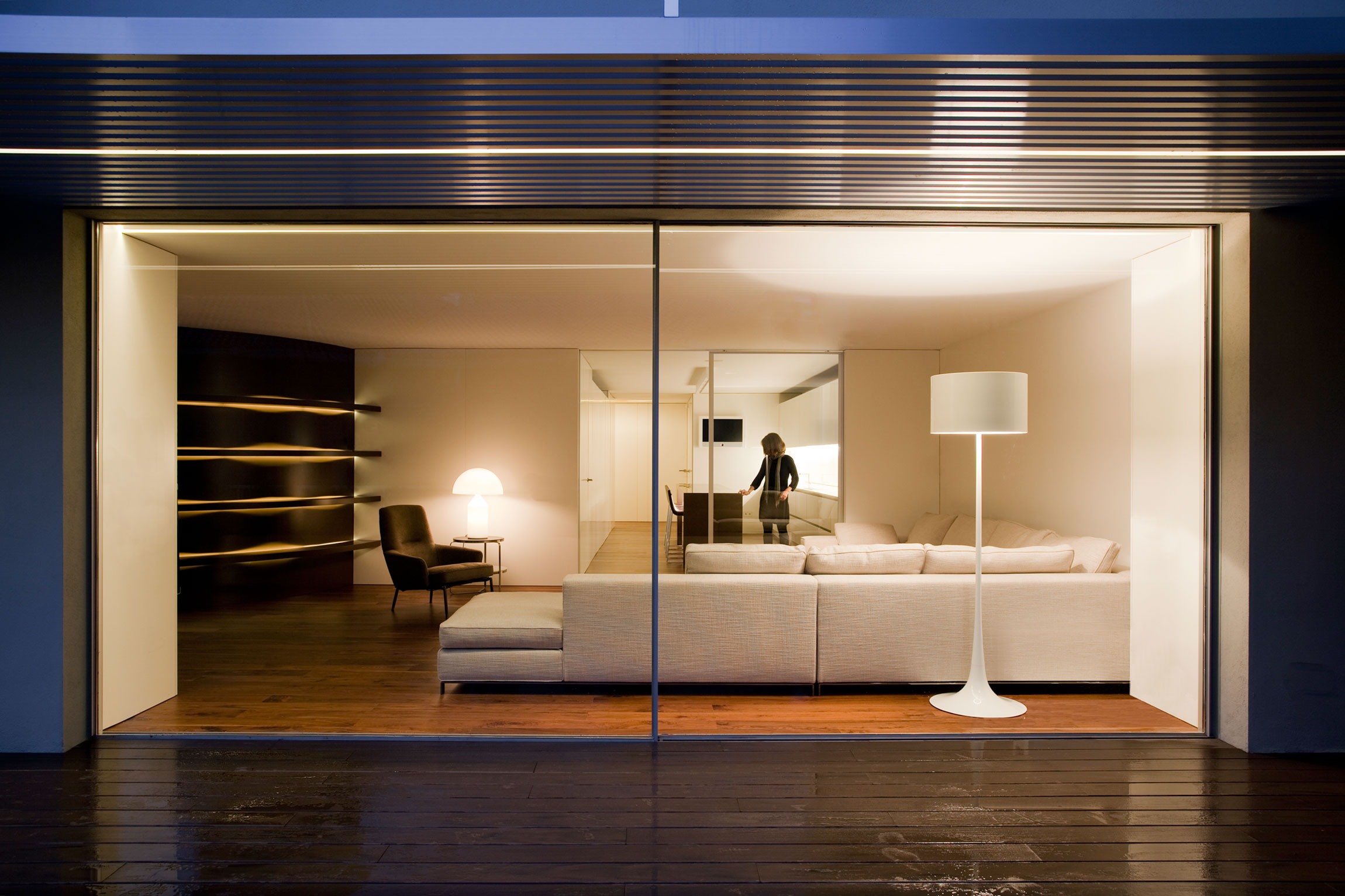 House Built Into the City by Fran Silvestre Arquitectos