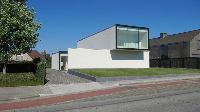 House VRT by DE JAEGHERE Architectuuratelier (1)