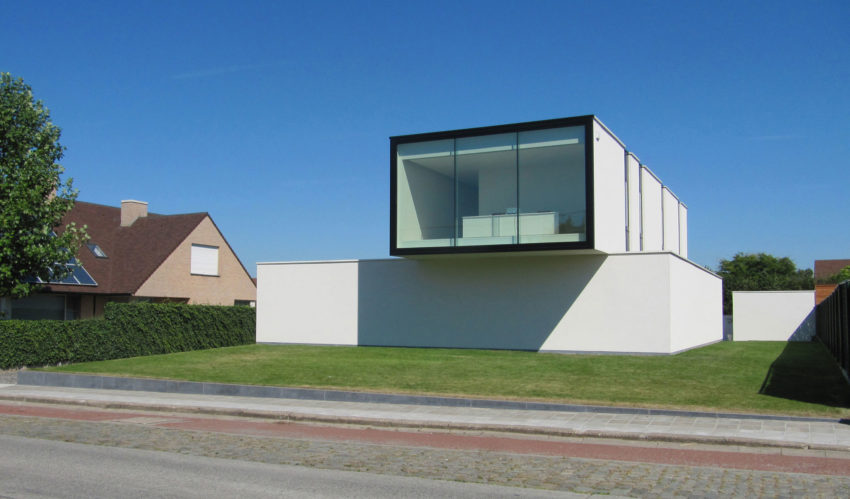 House VRT by DE JAEGHERE Architectuuratelier (2)