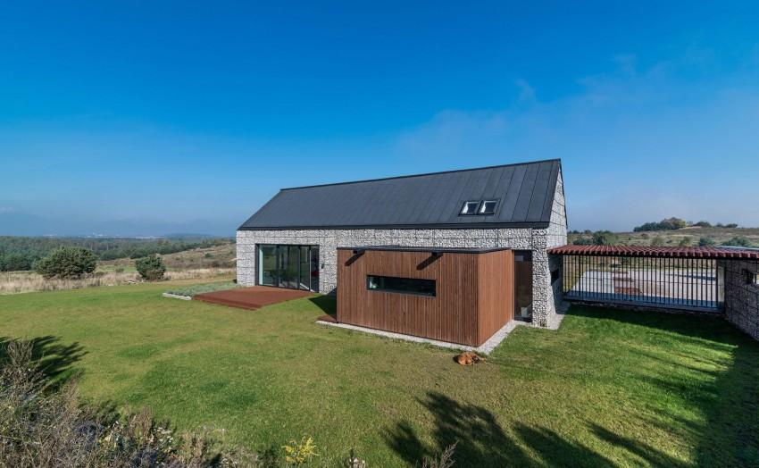 House in the Landscape by Kropka Studio (5)