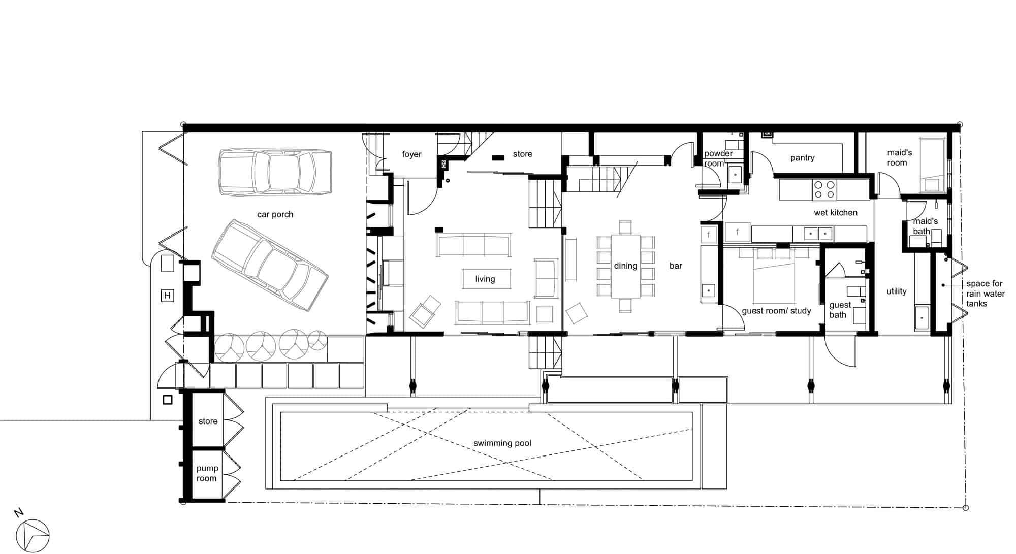 Menerung House by Seshan Design Sdn Bhd (28)
