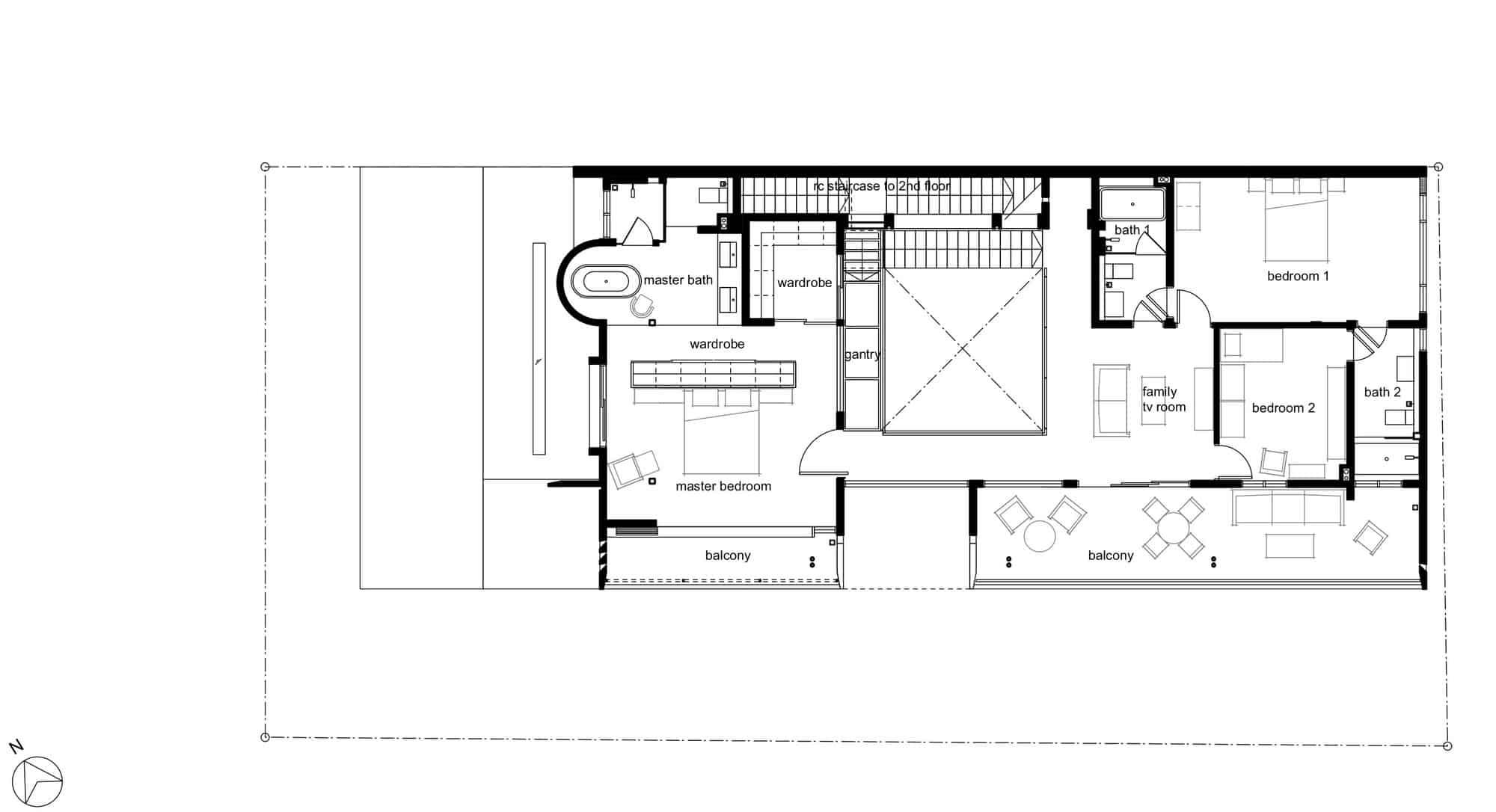 Menerung House by Seshan Design Sdn Bhd (29)