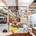 Office Space in Former Factory by Julie D'Aubioul (14)