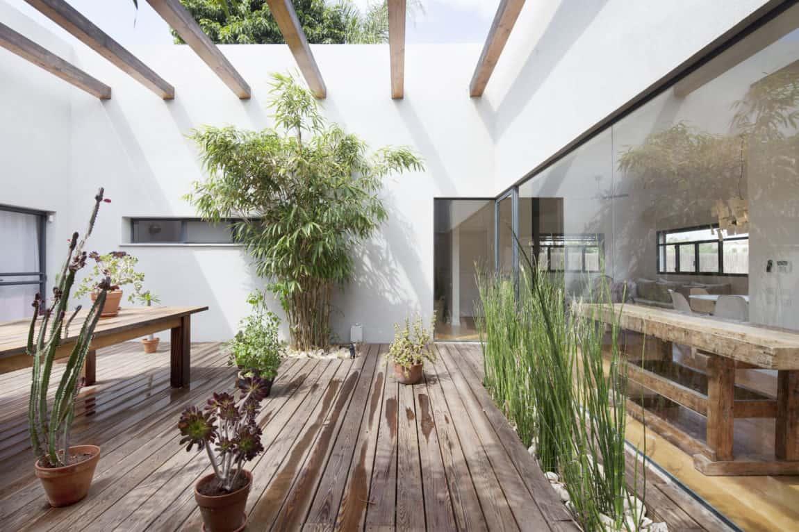 Patio House by Henkin Shavit Architecture & Design (17)