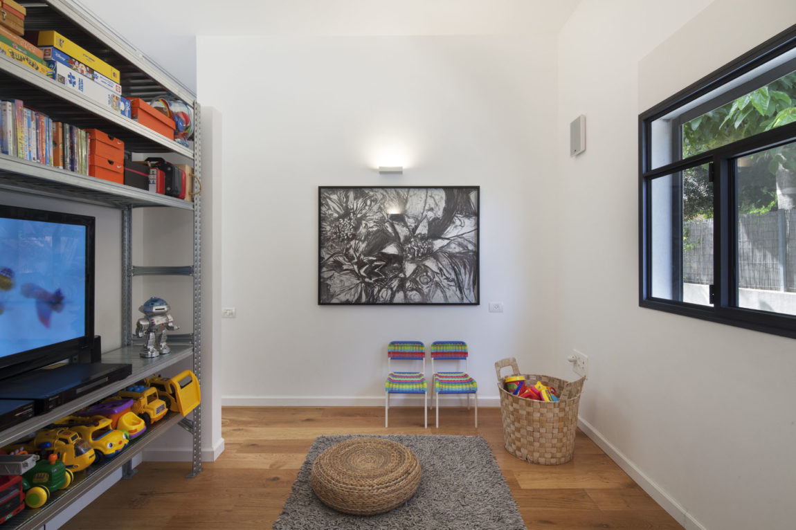 Patio House by Henkin Shavit Architecture & Design (1)