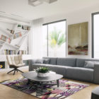 Residence in Ramat Sharon by Tal Goldsmith Fish (6)