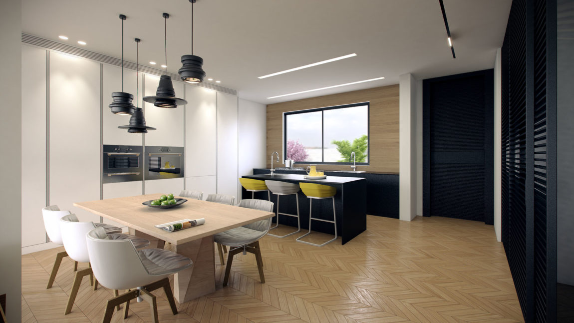 Residence in Ramat Sharon by Tal Goldsmith Fish (4)