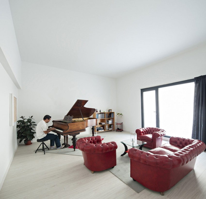 Single Family House with Garden by DTR_Studio Arquitectos (9)