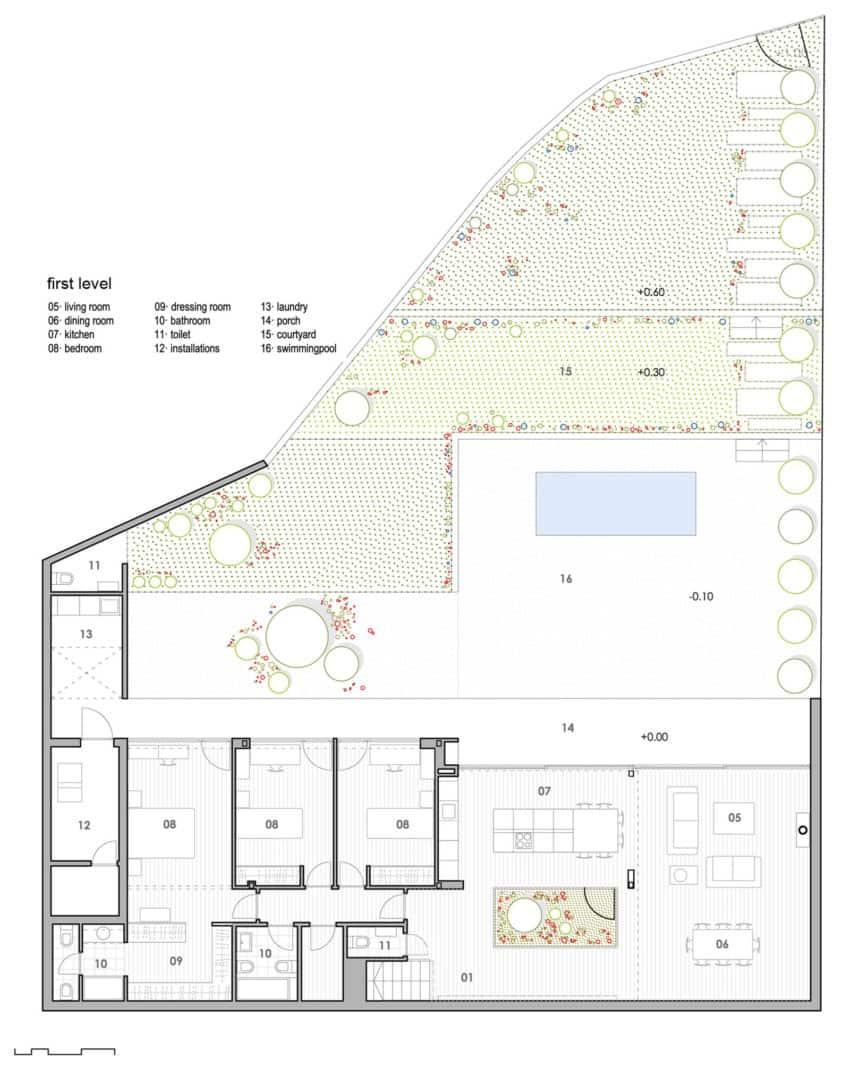 Single Family House with Garden by DTR_Studio Arquitectos (12)