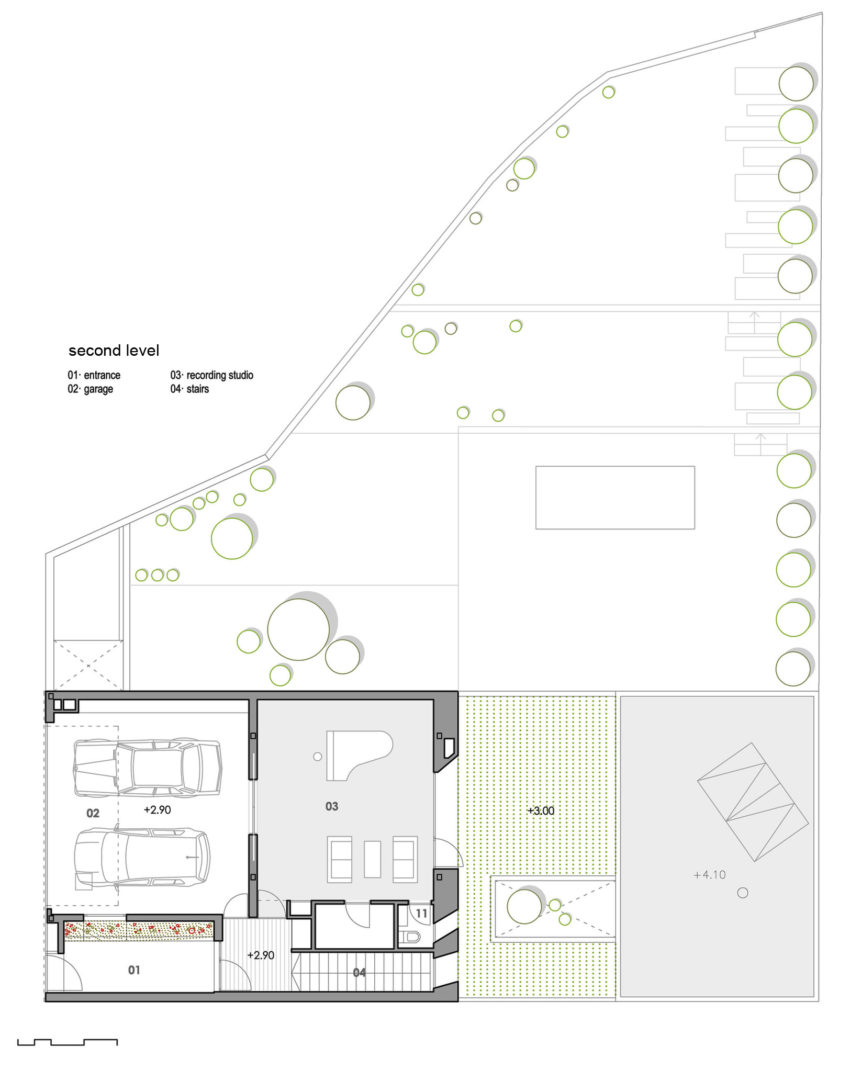 Single Family House with Garden by DTR_Studio Arquitectos (13)