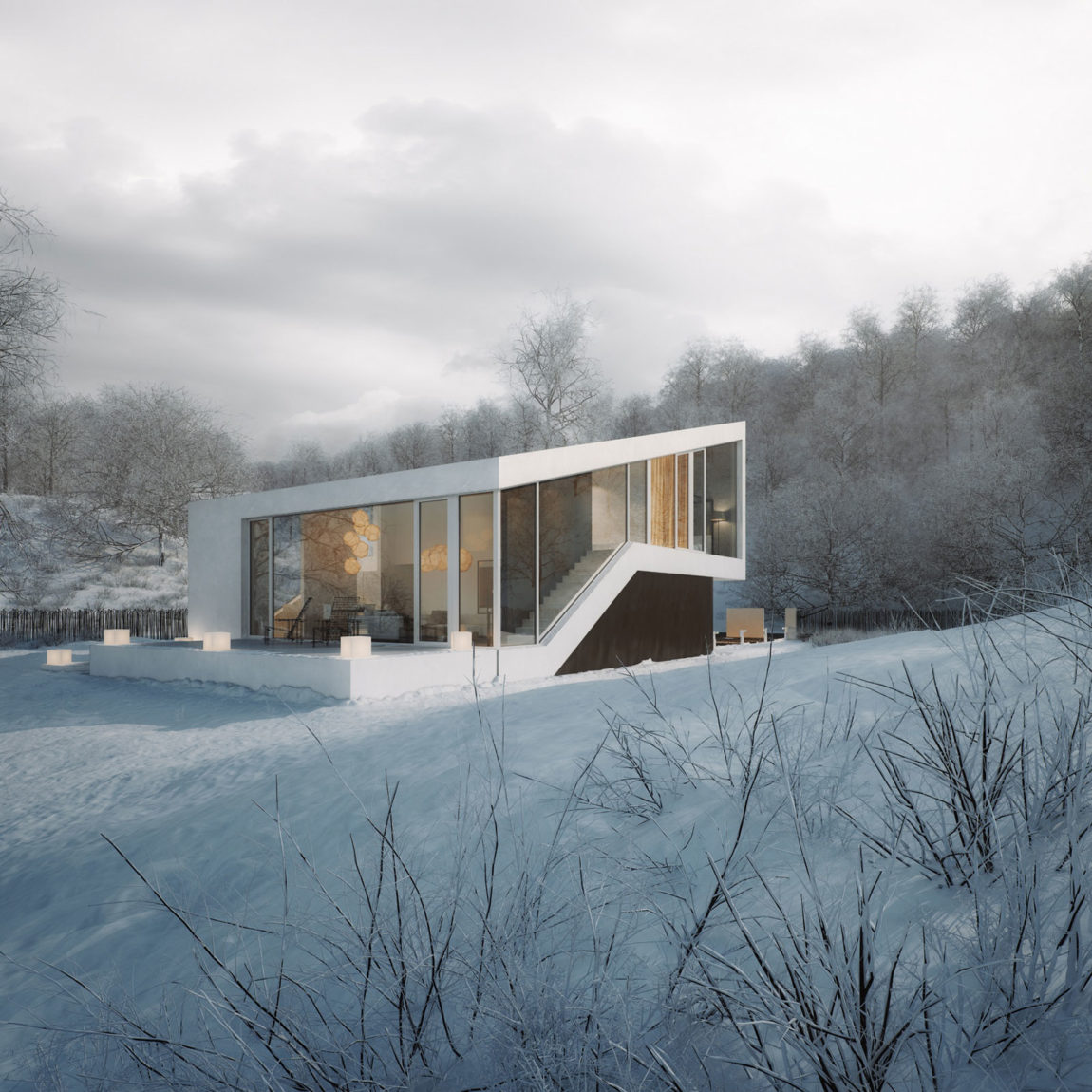 Slanted House by Michal Nowak (2)