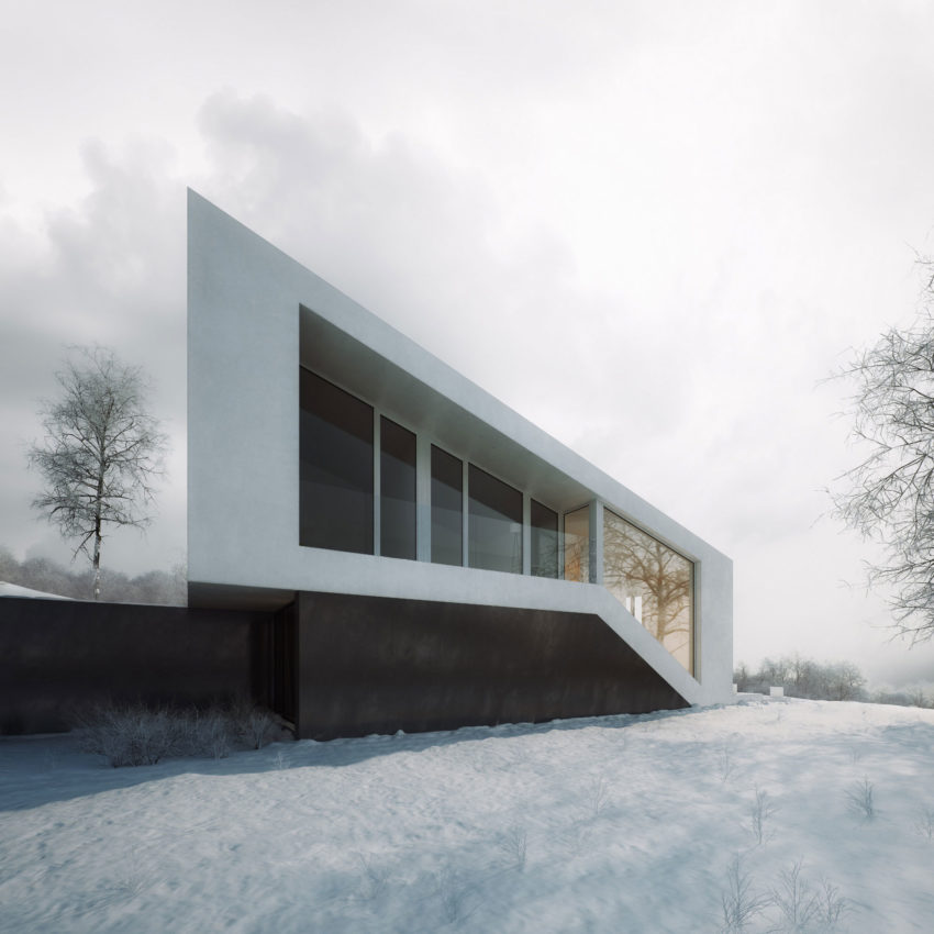 Slanted House by Michal Nowak (6)