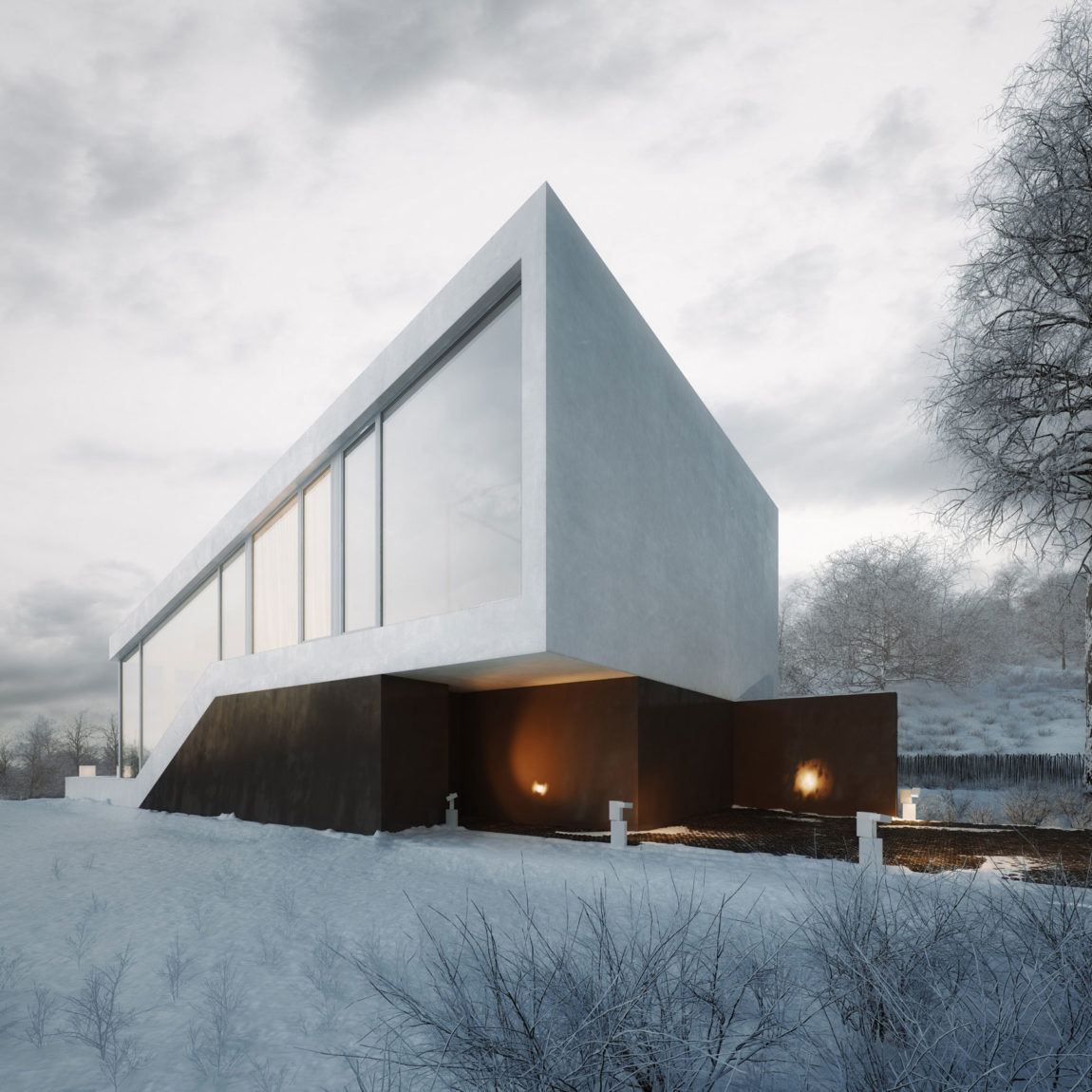 Slanted House by Michal Nowak (10)