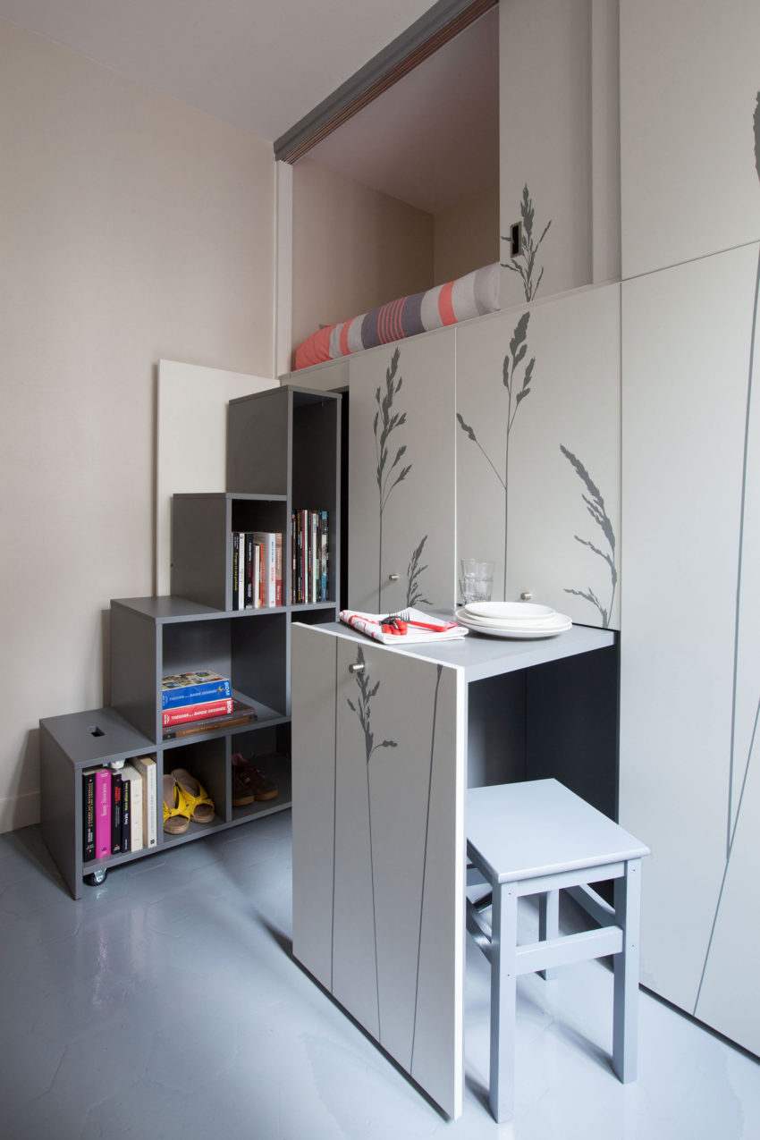 Tiny Apartment in Paris by Kitoko Studio (5)