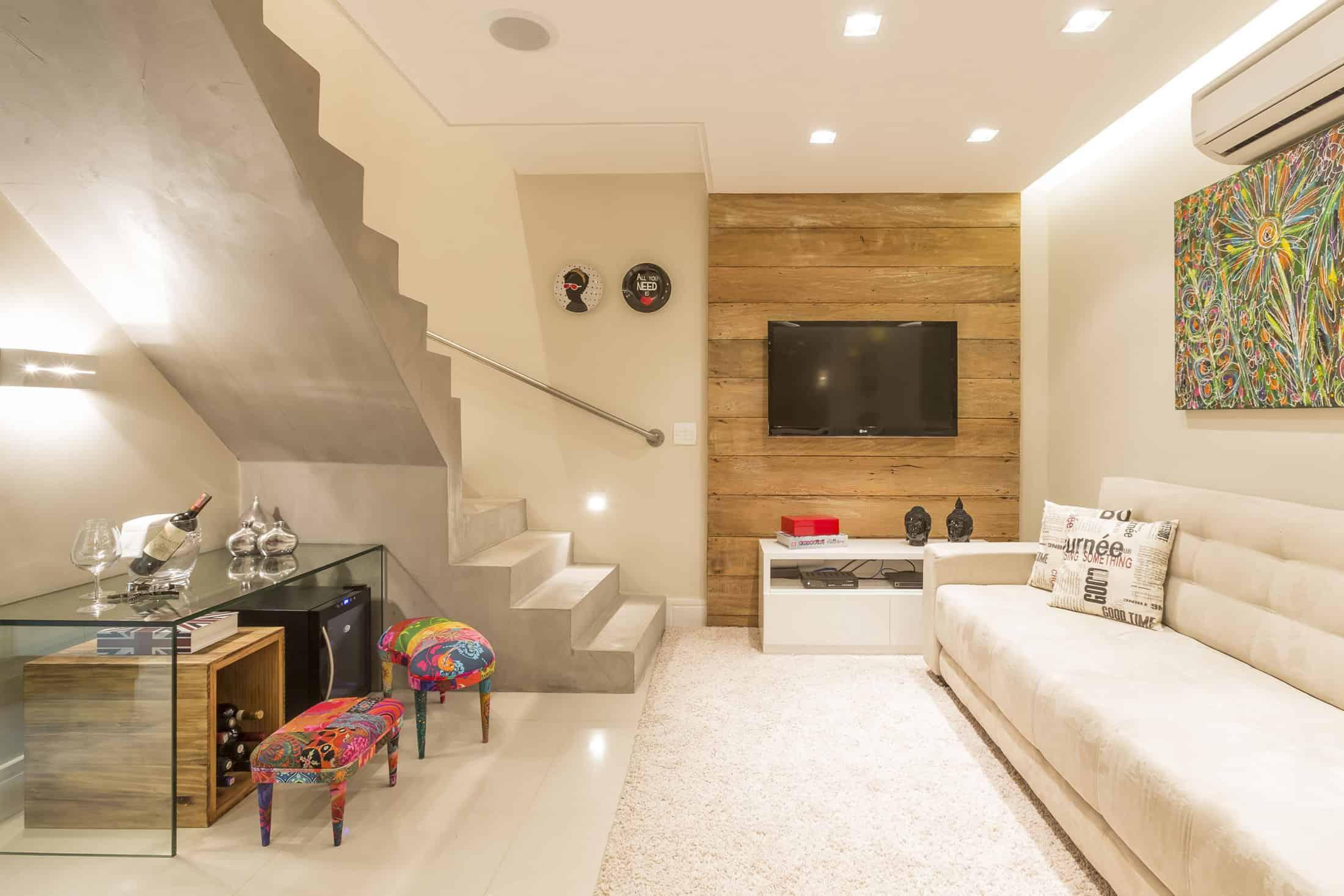 Vila mariana residence by cristiane bergesch for Como decorar un apartamento moderno