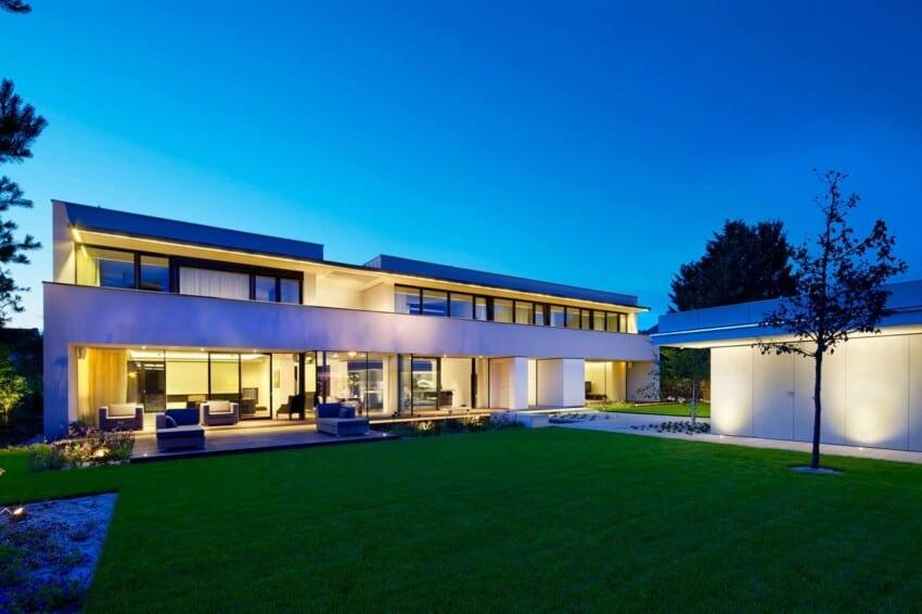 Villa Pruhonice by Jestico + Whiles (15)
