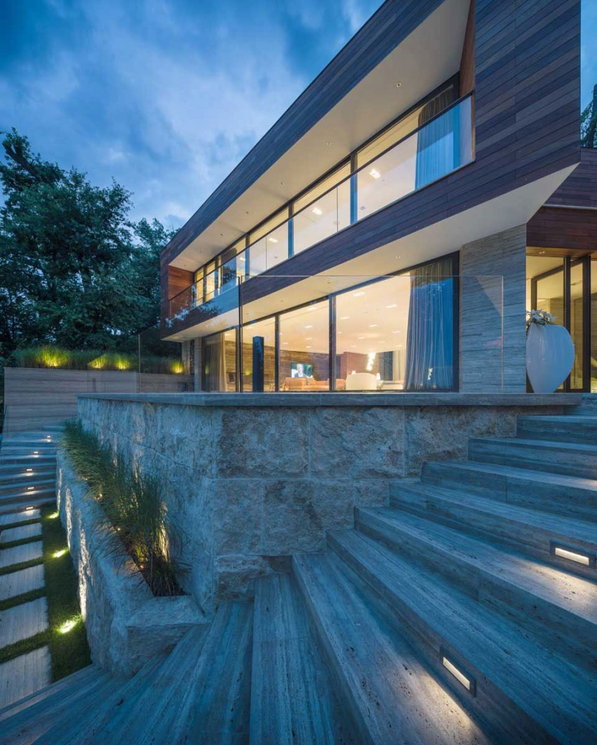 Villa Snagov by DOOI Studio (14)