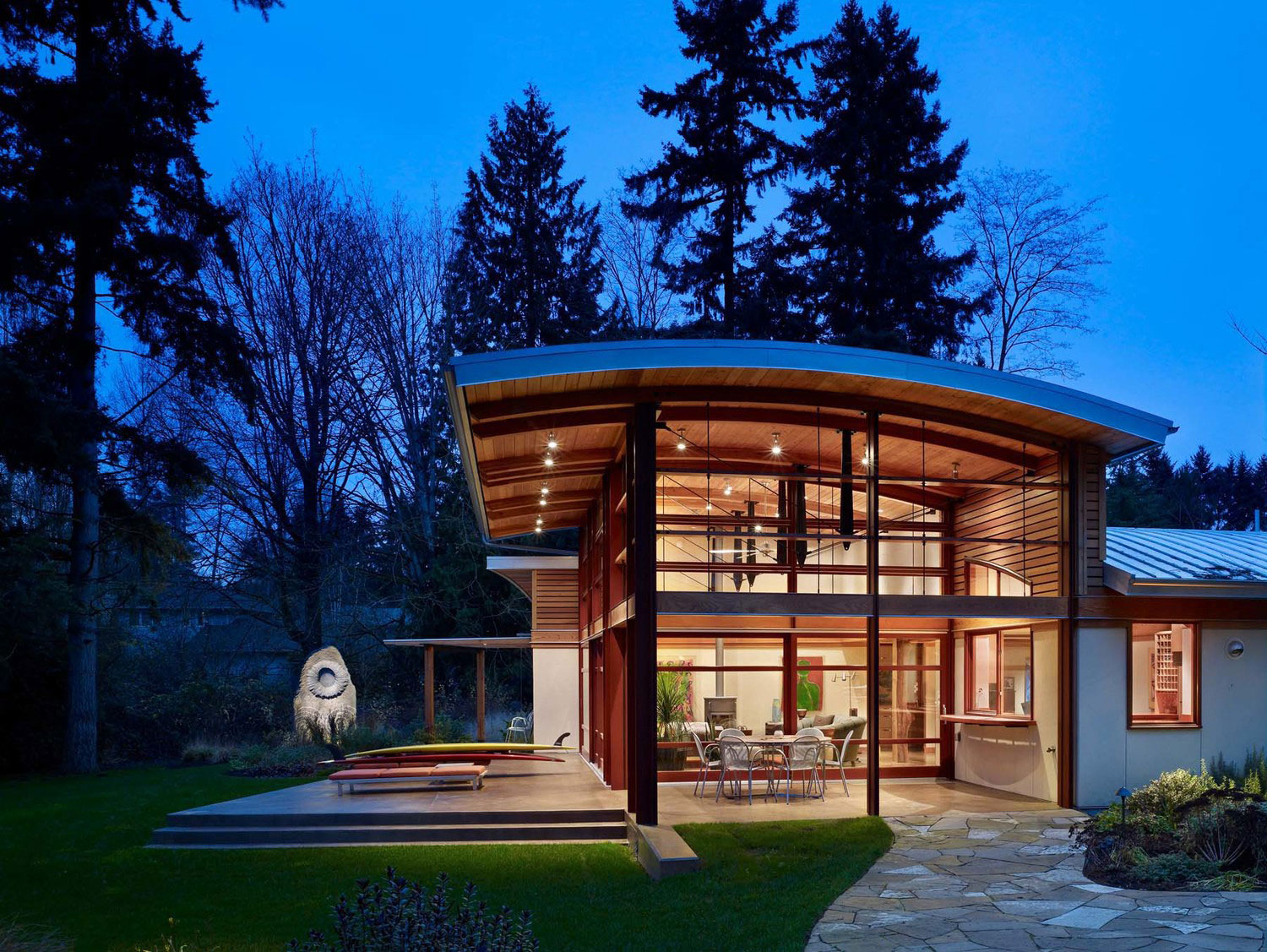 Garden House by Balance Associates Architects