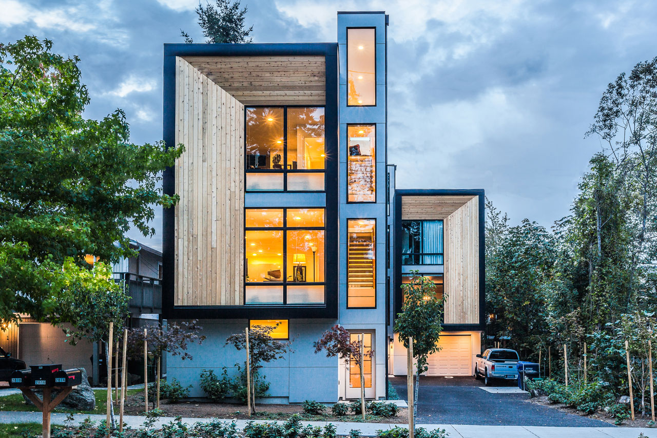 Genesee Townhomes by Elemental Architecture