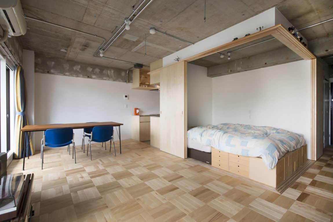 Tsukiji Room H by Yuichi Yoshida & associates (4)