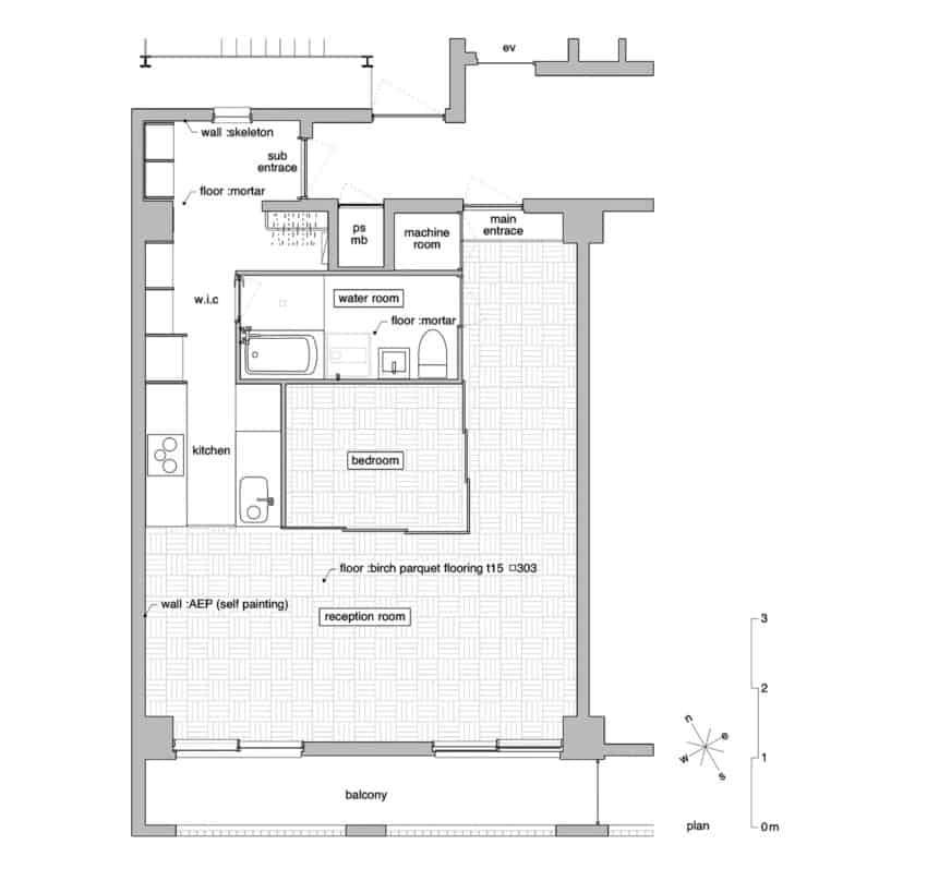 Tsukiji Room H by Yuichi Yoshida & associates (12)