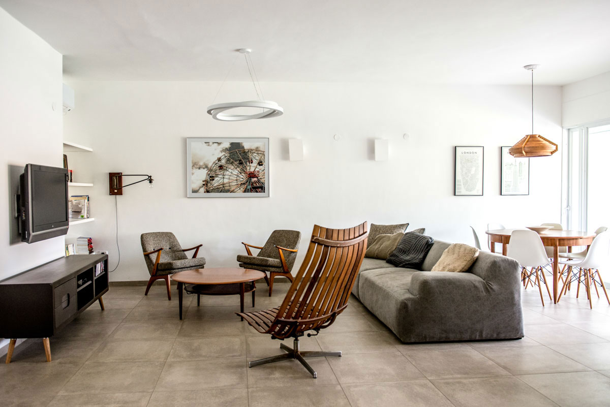 Apartment Renovation in North Israel by Merav Sade