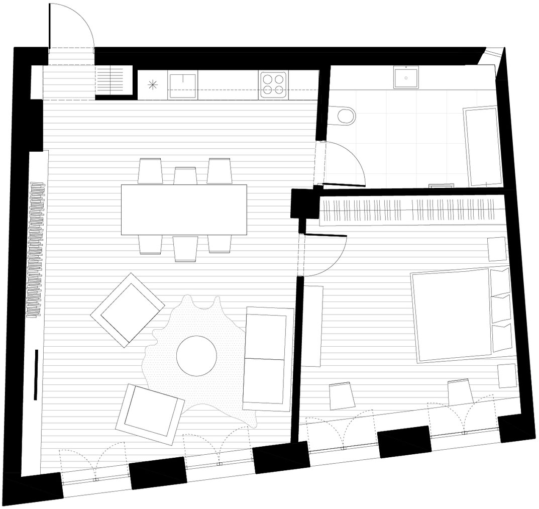 Apartment in Arklių Street by DO Architects (12)