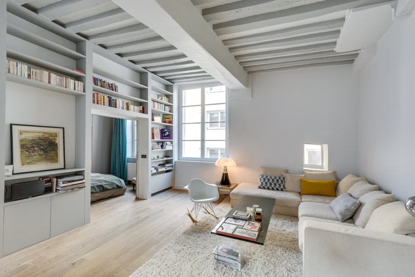 Apartment in the Heart of Paris by Tatiana Nicol (1)