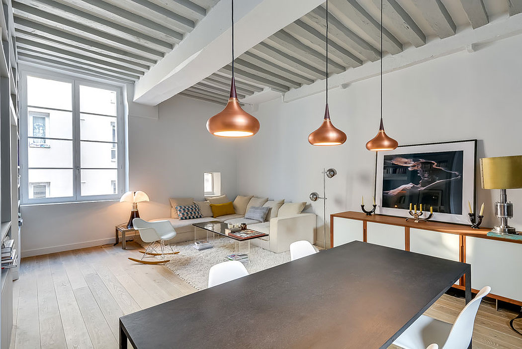 Apartment in the Heart of Paris by Tatiana Nicol (4)