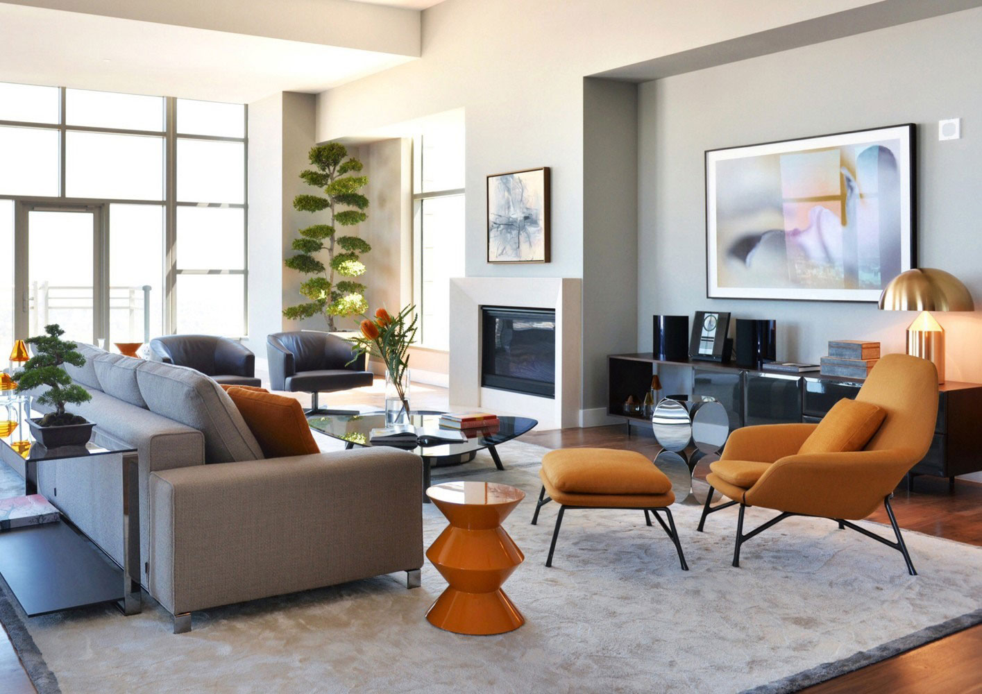 Carlyle residence penthouse by minotti - Sillas para salones ...