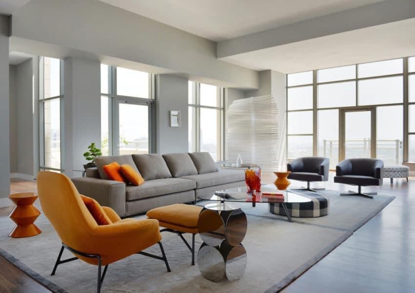 Carlyle Residence Penthouse by Minotti (2)