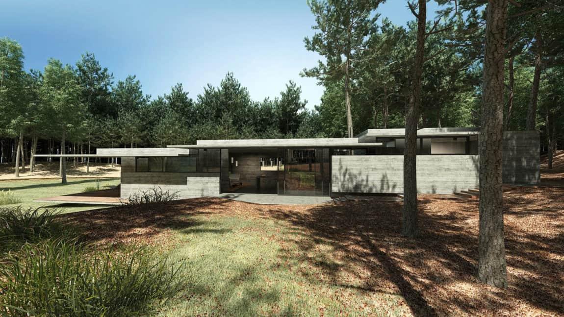 Casa Bosque by Besonias Almeida Arquitectos (3)
